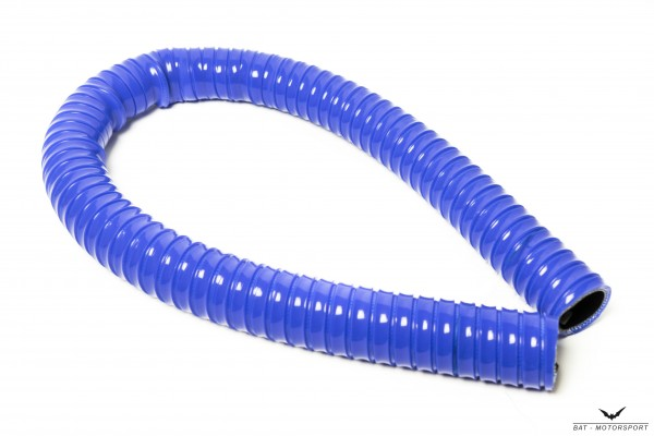16mm 1m-Silikonschlauch Superflex Blau